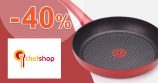 Akcie na panvice až -40% zľavy na ChefShop.sk