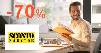 Akcie na pracovné stoly až -70% zľavy na Sconto.sk