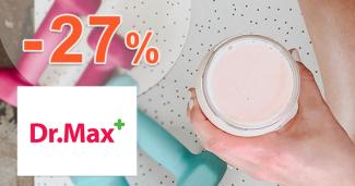 Akcie na proteíny až -27% zľavy na DrMax.sk