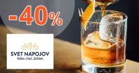 Akcie na rum až -40% zľavy na SvetNapojov.sk