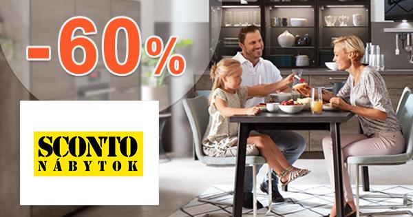 Akcie na jedálenské zostavy až -60% na Sconto.sk