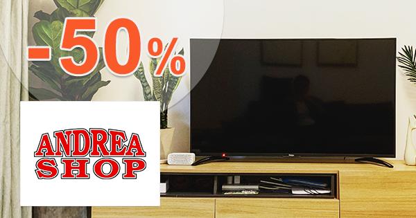 Top televízory až -50% zľavy na AdnreaShop.sk