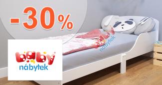 Akcie na tovar pre deti až -30% zľavy na BabyNabytek.sk