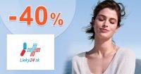 Výpredaj na výživové doplnky až -40% na Lieky24.sk