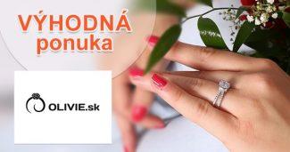 Akcie na vybrané strieborné šperky na Olivie.sk