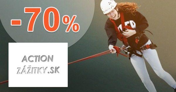 Výpredaj zážitkov až -70% zľavy na ActionZazitky.sk