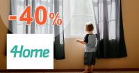 Akcie na rolety až -40% zľavy na 4Home.sk