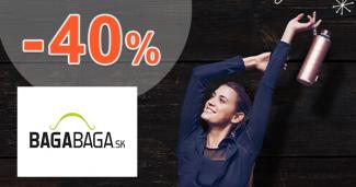 Akcie na zdravé fľaše až -40% zľavy na BagaBaga.sk