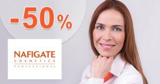 Akcie so zľavami až -50% na NafigateCosmetics.sk