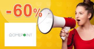 Akcie so zľavami až -60% na HomePoint.sk