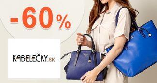 Akcie so zľavami až do výšky -60% na Kabelecky.sk