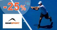 Akciová ponuka -25% zľavy na GamiSport.sk