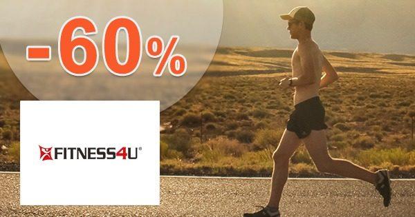 Akciová ponuka až -60% zľavy na Fitness4u.sk