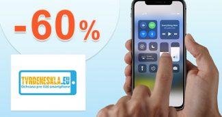 Akciová ponuka až -60% zľavy na TvrdeneSkla.eu