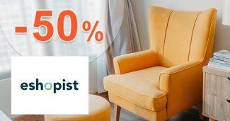 Akciová ponuka až do -50% zľavy na Eshopist.sk