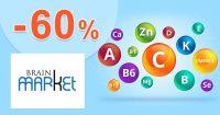 Akciová ponuka až do -60% zľavy na BrainMarket.sk