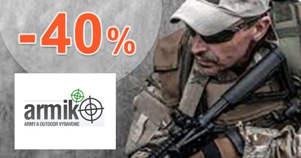 Akciová ponuka so zľavami až do -40% na Armik.sk