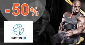 Akciové balíčky až -50% na Protein.sk
