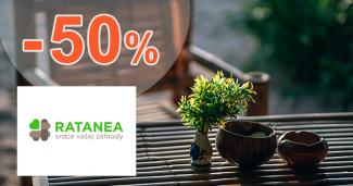 Akciové ponuky až -50% zľavy na Ratanea.sk