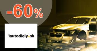 Akciové produkty a sady až -60% na 1autodiely.sk