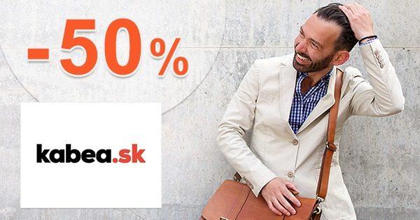 Akcie na pánske tašky až -50% zľavy na Kabea.sk