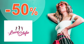 Akciový sortiment až -50% zľavy na LucyStyle.sk