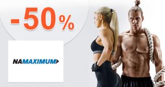Výpredaj až -50% zľavy a akcie na NaMaximum.sk