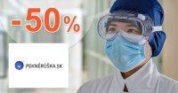 Akciový sortiment až -50% zľavy na PekneRuska.sk