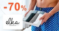 Akciový sortiment až -70% na ELKA-Underwear.sk