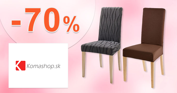 Textilné výrobky v akcii až -70% na KomaShop.sk