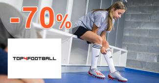 Výpredaj kopačiek až -70% zľavy na Top4football.sk