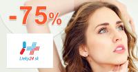 Výpredaj až do -75% zľavy a akcie na Lieky24.sk