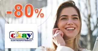 Akciový sortiment až -80% zľavy a akcie na Okay.sk