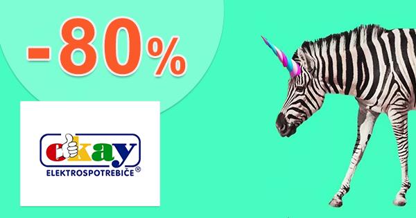 Black Friday výpredaj až -80% zľavy na Okay.skcie na Okay.sk