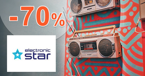 Akciový tovar až -70% zľavy na Electronic-Star.sk