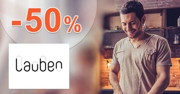 Akcie a zľavy k nákupu až do -50% na Lauben.com