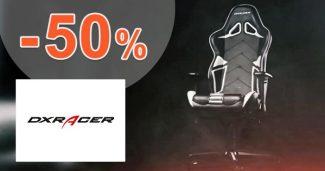 Akciová ponuka až do -50% zľavy na DXRacer.sk