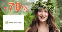 Aktuálne akcie až do -70% zľavy na Yves-Rocher.sk
