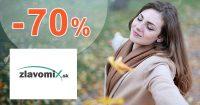 Totálny výpredaj až do -70% zľavy na Zlavomix.sk