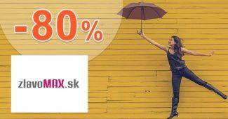 Aktuálne zľavy na tovar až do -80% na ZlavoMax.sk