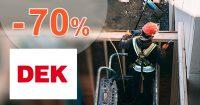 Aktuálna akciová ponuka až do -70% na DEK.sk