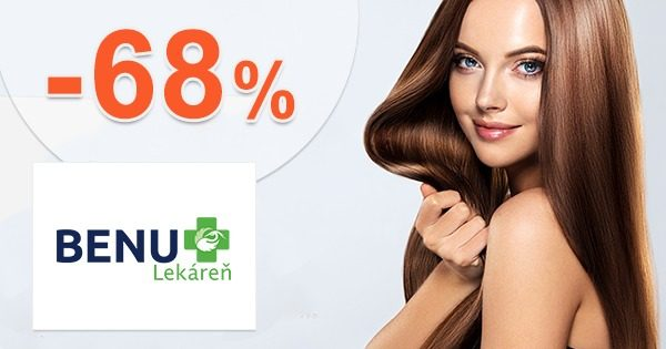 Aktuálne akcie až do -68% zľavy na BenuLekaren.sk
