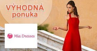 Aktuálne zľavy a akcie na módu na MiaDresses.sk