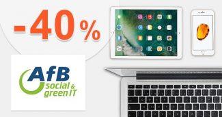 Apple sortiment až do -40% ZĽAVY na AfBshop.sk