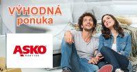 Nákup na splátky aj online na ASKO-nabytok.sk