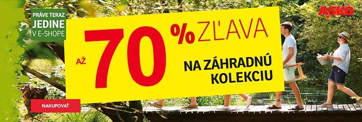 Až -70% na záhradné kolekcie na ASKO-nabytok