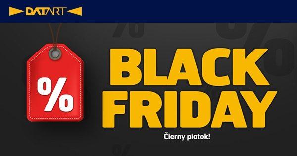 BLACK FRIDAY! Zľavy až do -80% na Datart.sk