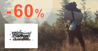 Oblečenie vo výpredaji až -60% na Top-ArmyShop.sk