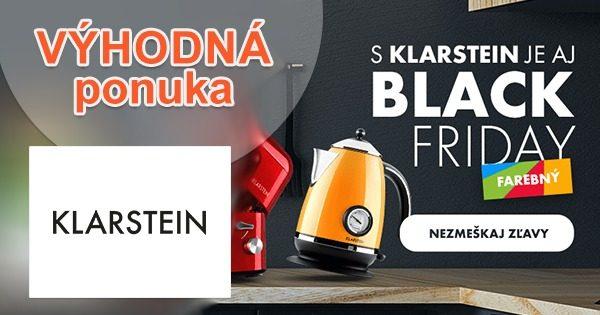 Black Friday! Denne nové ZĽAVY na Klarstein.sk