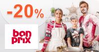 Black Friday ZĽAVA -20% na BonPrix.sk, kupón, akcia, poukážka